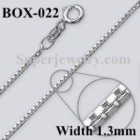 Box 022 Sterling Silver Chain