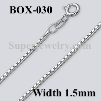 Box 030 Sterling Silver Chain